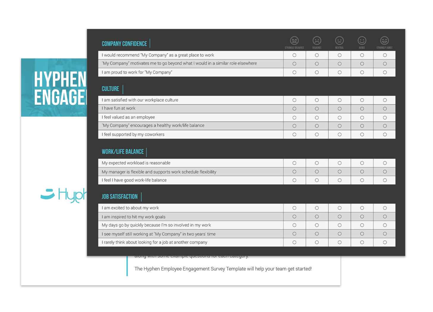 Luxury Employment Engagement Survey Template Motif - Administrative ...
